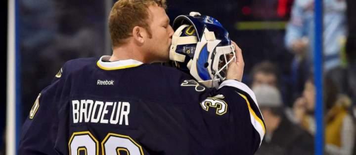 Martin Brodeur hockey