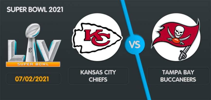 Pronostic Super Bowl 2021 Kansas City Chiefs Tampa Bay Buccaneers