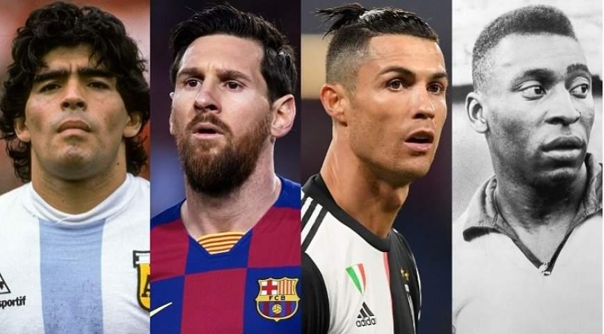 meilleurs joueurs de foot de l'histoire